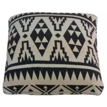 Yoruba Patterned Cushion- Large