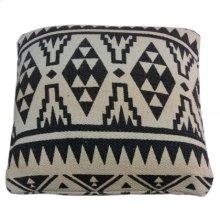 Yoruba Patterned Cushion- Large