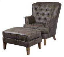 Walter Club Chair + Ottoman