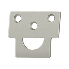Universal Strike, Solid Brass - Brushed Nickel