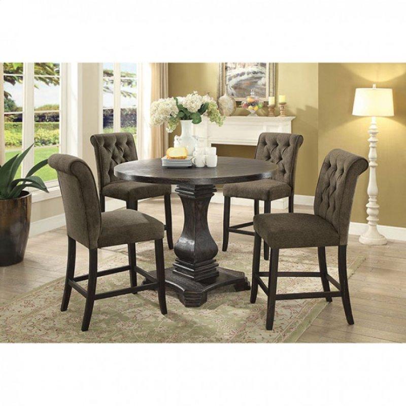 Hidden Additional Nerissa Round Counter Ht Table