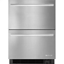 24-inch Under Counter Refrigerator/Freezer Drawers, Stainless Steel