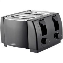 Cool Touch 4-Slice Toaster (Black)