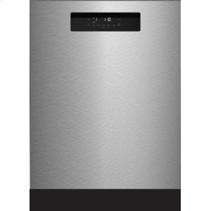 "Blomberg Appliances24"" Tall Tub Integrated Handle Dishwasher 5 cycle front control stainless steel 48 dBA"