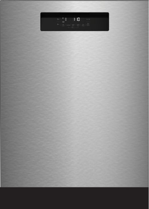 "24"" Tall Tub Integrated Handle Dishwasher 5 cycle front control stainless steel 48 dBA"
