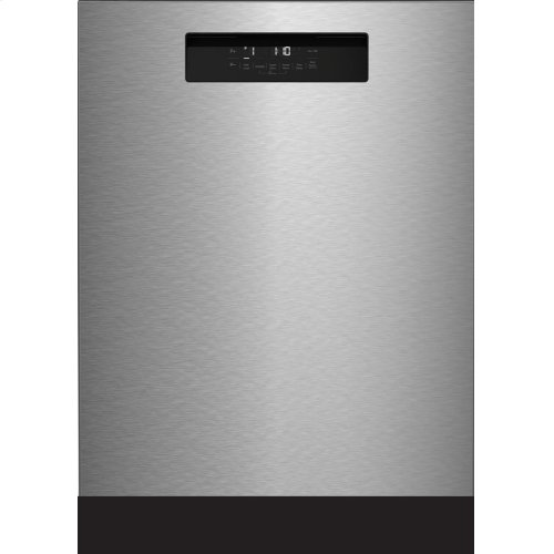 """24"""" Tall Tub Integrated Handle Dishwasher 5 cycle front control stainless steel 48 dBA"""