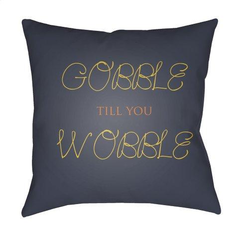 "Gobble Till You Wobble GOBBLE-003 18"" x 18"""