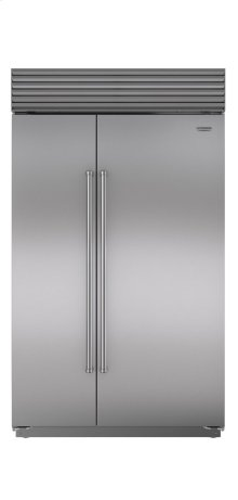 "48"" Classic Side-by-Side Refrigerator/Freezer with Internal Dispenser"