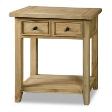 Tuscan Retreat® 2 Drawer Hall Table - Light Weatherd Pine