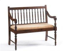 Walnut Deacon's Bench