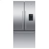 """Fisher & Paykel Freestanding French Door Refrigerator Freezer, 32"""", 17 Cu Ft, Ice & Water"""
