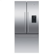 "Freestanding French Door Refrigerator Freezer, 32"", 17 cu ft, Ice & Water"