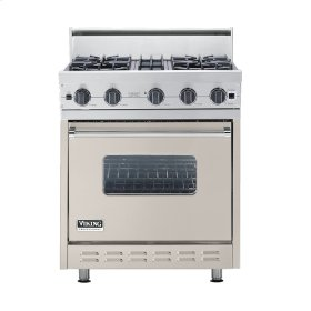 "Oyster Gray 30"" Open Burner Range - VGIC (30"" wide, four burners)"