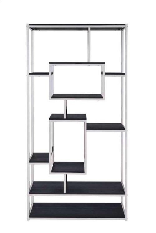 """Alize Bookcase, Cappuccino 36""""x12""""x71"""""""