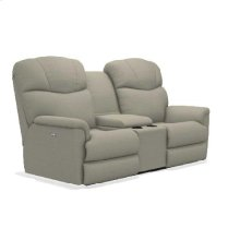 Lancer Power Reclining Loveseat w/ Console