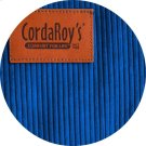 Cover for Pillow Pod or Footstool - Corduroy - Royal Blue Product Image