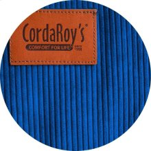 Cover for Pillow Pod or Footstool - Corduroy - Royal Blue