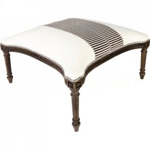 Madame Royale Zebra Bench