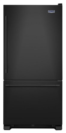 33-Inch Wide Bottom Mount Refrigerator - 22 Cu. Ft.