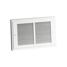 Heater, White Grille, 750/1500W 120VAC, 1125W 208VAC, 1500W 240VAC