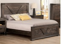 Chattanooga Double Bed with 22'' Low Footboard Product Image