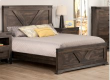 Chattanooga Double Bed with 22'' Low Footboard