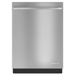 Jenn-Air® 24-Inch Flush TriFecta™ Dishwasher with Built-In Water Softener - Stainless Steel