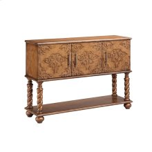 Carved Front Console