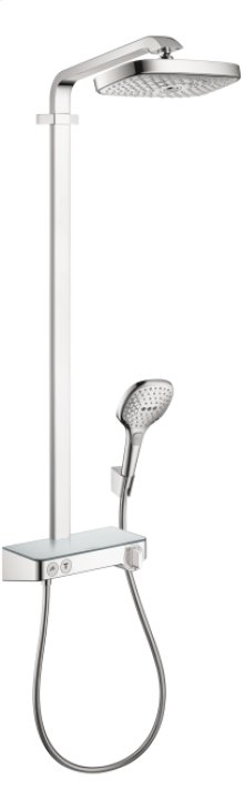 Chrome Showerpipe 300 with Select Shower Controls, 2.0 GPM