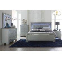 Eastern King Bed, LED Lighting