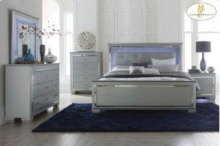 Allura Queen Bed LED Lighting