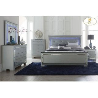 Allura Queen Bed LED Lighting