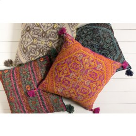 """Zahra ZP-005 30"""" x 30"""" Pillow Shell with Polyester Insert"""