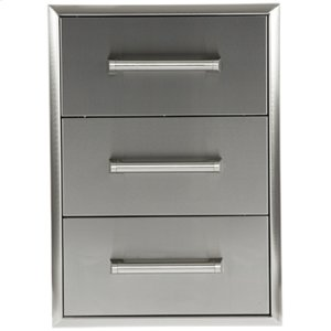 CoyoteCoyote Three Drawer Cabinet C3DC-USA