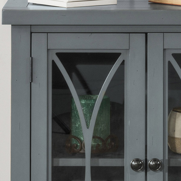 Hillsdale Furniture Bayside 2 Door Cabinet   Robinu0027S Egg Blue
