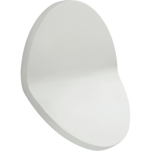 Visual Comfort PB2055WHT Peter Bristol Bend LED 12 inch Distressed White Outdoor Wall Light, Large Round