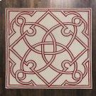 Spotswood Rug-Oxblood/Celadon-12' x 12' Product Image