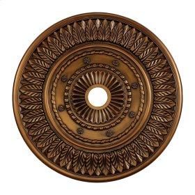 Corinna Medallion 33 Inch in Antique Bronze Finish