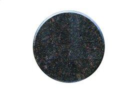 "Ponza 24"" Round Granite Bistro Table Top and Iron Base"