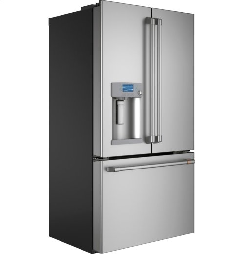 Café ENERGY STAR® 22.2 Cu. Ft. Counter-Depth French-Door Refrigerator with Hot Water Dispenser