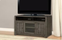 """55"""" TV Console With Louvered Doors"""