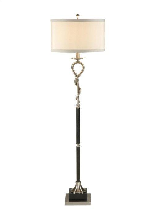 Loop and Twist Floor Lamp