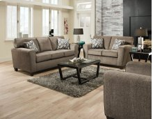 3100 Cornell Pewter Sofa and Loveseat