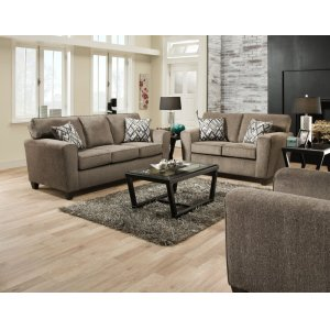 American Furniture Manufacturing3100 - Cornell Pewter Sofa