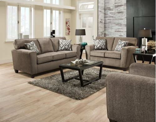 3100 - Cornell Pewter Loveseat