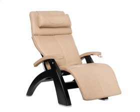 Perfect Chair PC-420 Classic Manual Plus - Ivory Premium Leather - Matte Black