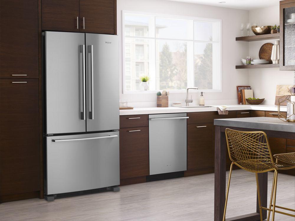 Wdta75sahz Whirlpool Smart Dishwasher With Third Level
