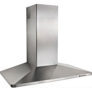 "35-7/16"" Stainless Steel Range Hood with 500 CFM Internal Blower"
