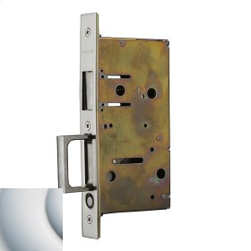 Satin Chrome 8603 Pocket Door Strike with Pull