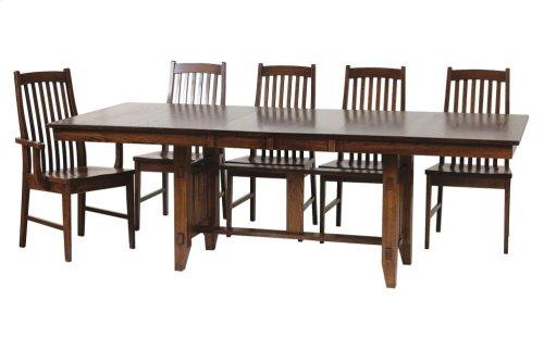 "42/68-2-12"" Rectangular Trestle Table Base #1"